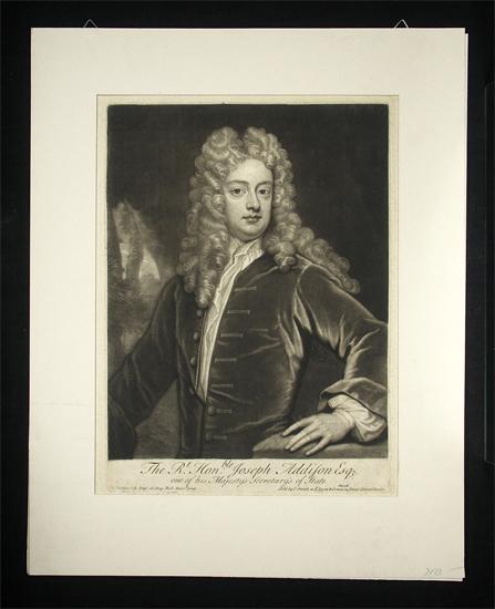 Addison, Joseph  (1672-1719): - Engl. Dichter, Essayist und Staatsmann.