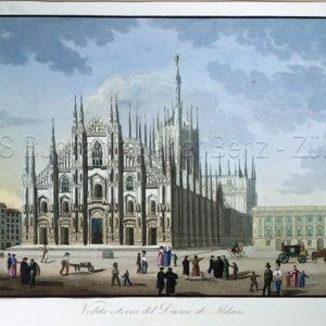 - Veduta esterna de Duomo di Milano.