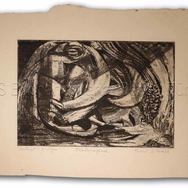 Dienes, Sari (1899-1992): - Gasteropod.