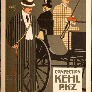 Hohlwein, Ludwig (1874-1949): - Confection Kehl P. K. Z.