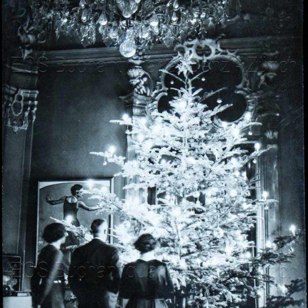 Schuh, Gotthard (1897–1969): - Weihnachtsbaum.