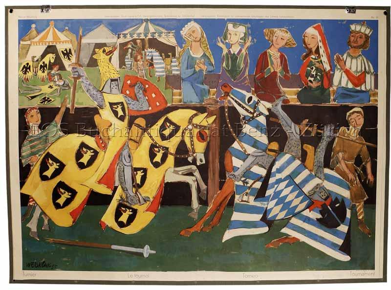 Weiskönig, Werner (1907-1982): - Turnier - Le tournoi - Torneo - Tournament.