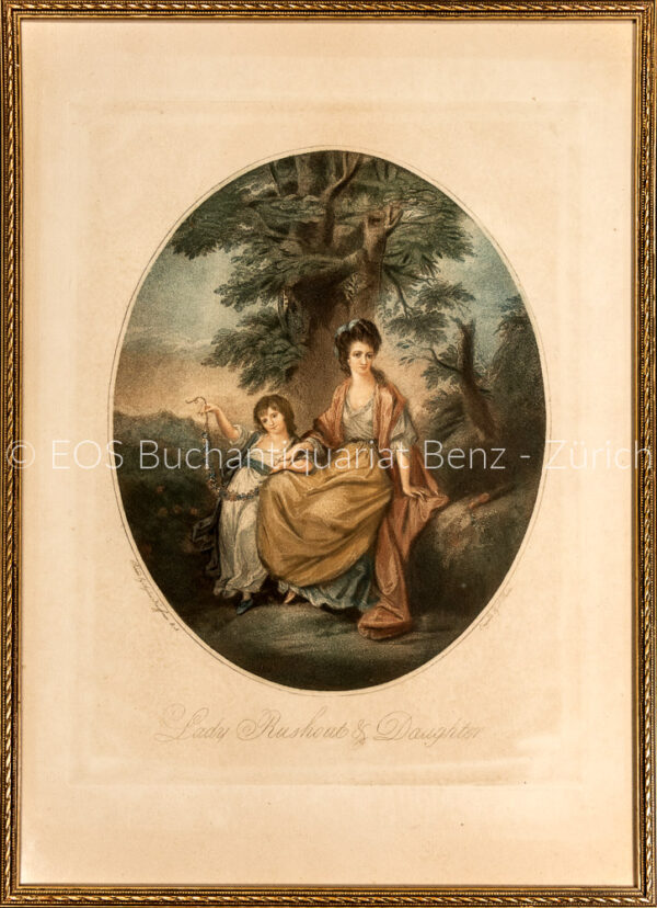 Kauffman, Angelika (1741–1807): - Lady Rushout & Daughter.