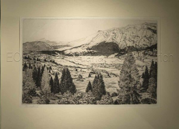 Strauss, Carl (1873–1957): - Flims.